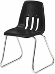 9000 Classic Series Sled Base Chair with 12'' Seat Height [9612-VCO]