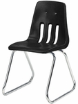 9000 Classic Series Sled Base Chair with 16'' Seat Height [9616-VCO]