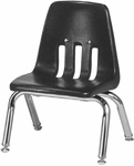 9000 Classic Series Stack Chair with 10'' Seat Height [9010-VCO]