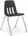9000 Classic Series Stack Chair with 16''H Polypropylene Seat - 16.75''W x 19.5''D x 27''H [9016-VCO]