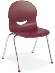 I.Q. Series Stack Chair with 13''H Seat [264513-VCO]