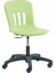 Metaphor Series Task Chair with Adjustable Seat Height - 24.13''W x 24.13''D x 28''H - 32.5''H [N9TASK18-VCO]