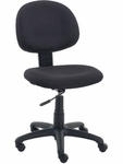 4300 Series Task Chair with Confetti Black Fabric and Black Base [4300-BLK258-BLK01-VCO]
