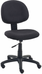 4300 Series Task Chair with Confetti Black Fabric and Black Base - 19.75''W x 24''D x 34''H - 39''H [4300-BLK258-BLK01-VCO]