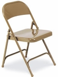 Multi-Purpose Folding Chair in Golden Bronze Finish [162-GLD91-VCO]