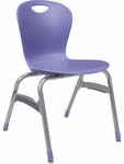 ZUMA Series Stack Chair with 18'' Seat Height [ZU418-VCO]