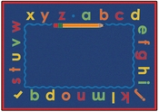 Lowercase Alpha Rug