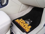 Loyola University Chicago 2-piece Carpeted Car Mats 18'' x 27'' [5264-FS-FAN]