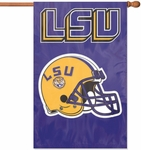 LSU Tigers Applique Banner Flag [AFLSU-FS-PAI]