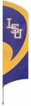 LSU Tigers Tall Team Flag w/ Pole [TTLSU-FS-PAI]