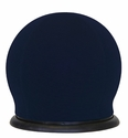Lucille Chair with 360 Degree Swivel Base - Navy