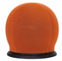 Lucille Chair with 360 Degree Swivel Base - Orange