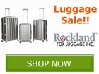 Luggage Sale, Save by