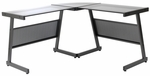 Luigi L Desk in Black [27648BLK-FS-ERS]