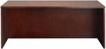 Luminary 72'' W x 36'' D x 29'' H Straight Front Desk - Cherry [DKS3672C-FS-MAY]