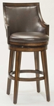 Lyman Swivel Bar Stool - Brown Vinyl [4481-830-FS-HILL]