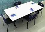 M500 Series Dry Erase Markerboard Activity Tables [M52436-AP]
