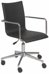 Madge Office Chair in Black [17229BLK-FS-ERS]