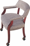 Madison Arm Chair with Casters [MA1563-FS-CMF]
