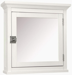 Madison Avenue Medicine Cabinet in White [7039-FS-EHF]