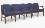 Madison Series 5 Seats with Center Arm [M5203G5-FS-RO]