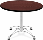 36'' Round Multi-Purpose Table - Mahogany [KLT36RD-MHGY-MFO]