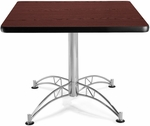 36'' Square Multi-Purpose Table - Mahogany [KLT36SQ-MHGY-MFO]