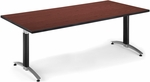 36'' D x 72'' W Mesh Base Conference Table - Mahogany [KT3672MB-MHGY-FS-MFO]