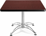 42'' Square Multi-Purpose Table - Mahogany [KLT42SQ-MHGY-MFO]