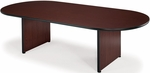 48'' D x 96'' W Racetrack Conference Table - Mahogany [T4896RT-MAHOGANY-FS-MFO]