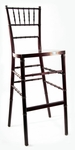 Mahogany Beechwood European Chiavari Bar Stool - 16.5''W X 16''D X 45.5''H [BBSMAH-AS]