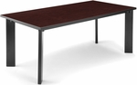 Library Conference Table 36'' D x 72'' W - Mahogany [KLIB3672-MHGY-FS-MFO]