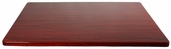 Mahogany Resin 30'' x 42'' Rectangular Indoor Table Top