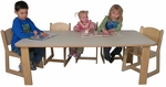 Mainstream Preschool Rectangular Table [SF2002P-SFK]