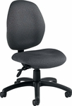 Malaga Armless Low Back Task Chair with Casters - Grade 3 [3147-6-GR3-FS-GLO]