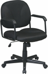Work Smart Managers Chair with Locking Tilt Control and Seat Height Adjustment [EX3301-FS-OS]