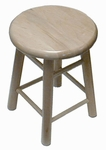 Maple Hardwood Stools [S-18-M-HNN]
