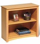 Sonoma 31.5''W 2-Shelf Bookcase with 1 Adjustable Shelf - Maple [MDL-3229-FS-PP]