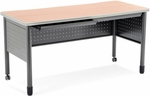 Mesa 27.75'' D x 55.25'' W Training Table and Desk with Drawers 27.75'' D x 55.25'' W - Maple [66140-MPL-MFO]