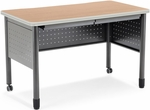 Mesa 27.75'' D x 47.25'' W Training Table and Desk with Drawers - Maple [66120-MPL-MFO]