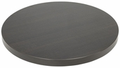 Marco 30''D Indoor Table Top with Wenge Melamine Finish