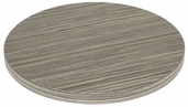 Marco 30''D Indoor Table Top with Zebra Melamine Finish