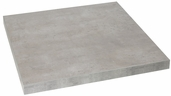 Marco 30'' x 45'' Rectangular Indoor Table Top with Concrete Melamine Finish