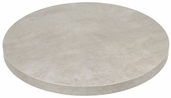 Marco 46''D Indoor Table Top with Concrete Melamine Finish
