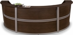 Marque Triple-Unit Reception Station - Walnut [55293-WALNUT-FS-MFO]