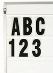 Marquee 5'' Polycarbonate Changeable Letters - 500 Character Set [F5-0-AA]