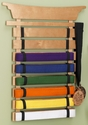 Children Martial Arts Karate Tai Kwan Do Belt Display Holder - Natural