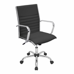 Master Office Chair Black [OFC-AC-MSTR-BK-FS-LUMI]
