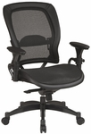 Space Matrex Mesh Back and Seat Ergonomic Office Chair with Adjustable Padded Arms [2787-FS-OS]