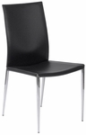 Max Side Chair in Black (Set of 2) [17224BLK-FS-ERS]